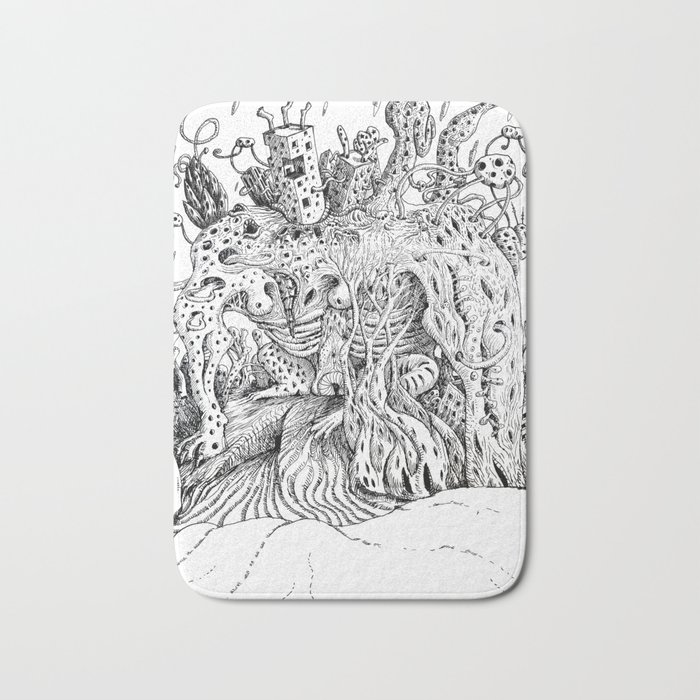 Outskirts of Vision - the city Bath Mat