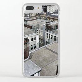 Rooftops of Glasgow Clear iPhone Case