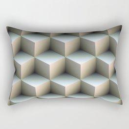 Ambient Cubes Rectangular Pillow