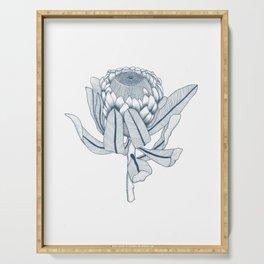 Protea Plant Serving Tray