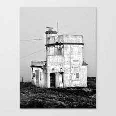 Old Sea Port Building, Dunmore East, Co. Waterford, Ireland Canvas Print