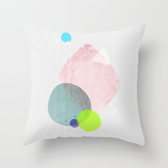 Graphic 123 Throw Pillow