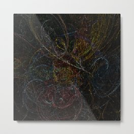 Voodoo Thought Cubes Metal Print