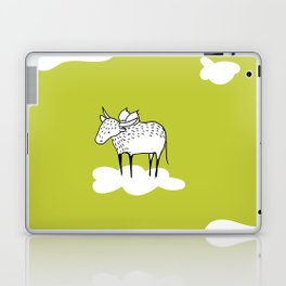 Flying Water Buffalo by Amanda Jones Laptop & iPad Skin
