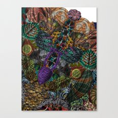Psychedelic Botanical 12 Canvas Print