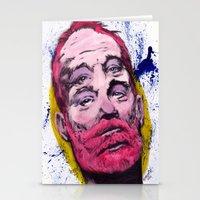 bill murray Stationery Cards featuring Bill Murray by Astrosim