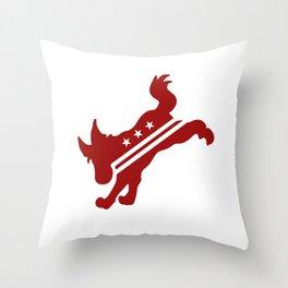 DC Kicks (White) Throw Pillow