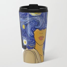 Her Starry Night Travel Mug