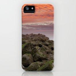 Sunrise Colwyn Bay iPhone Case