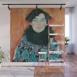 Gustav Klimt - Johanna Staude Wall Mural