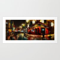 dublin Art Prints featuring dublin by Joaquim Meira