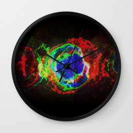 The Eye of Helix Wall Clock