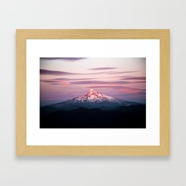 Mount Hood XI Framed Art Print
