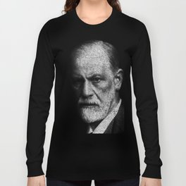 Sigmund Freud quote Long Sleeve T-shirt