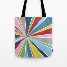 Star Burst Color Tote Bag