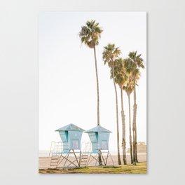 Lifeguard Towers Canvas Print