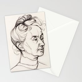 Julie de Graag - Portrait of Mrs. Corry Pabst Stationery Cards