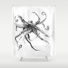 Star Octopus Shower Curtain