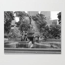 Hyde Park Sydney Canvas Print