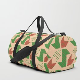 Clover&Nessie Lime/Orange Duffle Bag