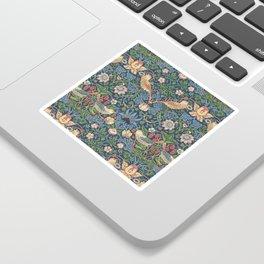 Strawberry Thief - Vintage William Morris Bird Pattern Sticker