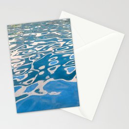 Breathtaking Fine Art / Abstract Glistening Ocean Waters Stationery Cards