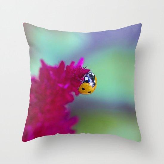 Color Me Beautiful Throw Pillow