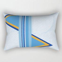 Measures | Abstract art | Modern Happy Art Rectangular Pillow