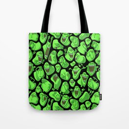 Fifty shades of slime. Tote Bag