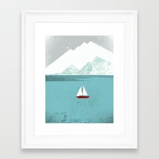 Dawn Treader Framed Art Print