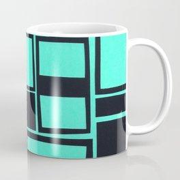 Windows & Frames - Teal Coffee Mug