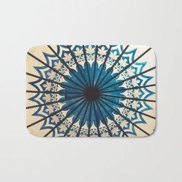 Blue orient  Bath Mat