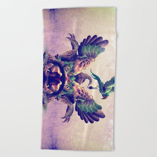 monster Beach Towel