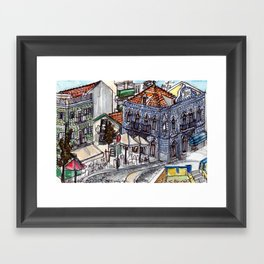 Buarcos, Portugal Framed Art Print