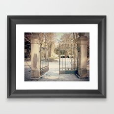 To Narnia Framed Art Print