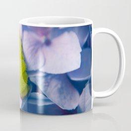 Actias Luna Larva on Hydrangea Nature Photo Coffee Mug