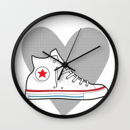 Converse Love Wall Clock