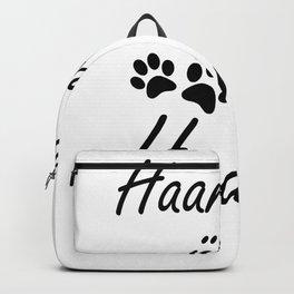 Hair Everywhere Funny Dog Gift Backpack