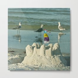 It's better at the beach #2 Metal Print