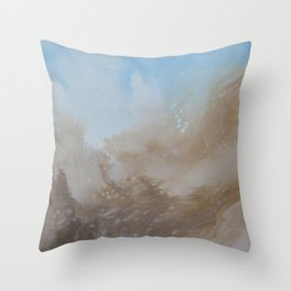Mountain views Throw Pillow