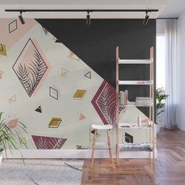 Rhombus&Palms #society6 #decor #buyart Wall Mural