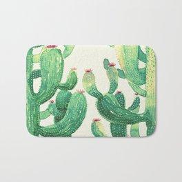 two big cactus Bath Mat