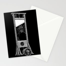 hungry guillotine Stationery Cards