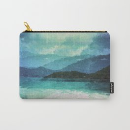 Tropical Island Multiple Exposure Carry-All Pouch