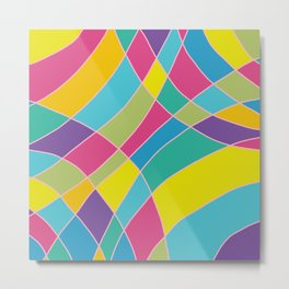 80s Abstract Painting #1 Metal Print