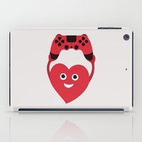 gaming iPad Cases featuring Gaming Heart by Boriana Giormova