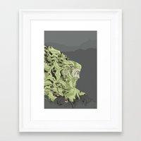 kodama Framed Art Prints featuring KODAMA by Ron Gervais