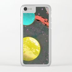 Dust 05 - Post Biological Universe Clear iPhone Case