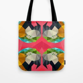TRIPPY PARROT Tote Bag