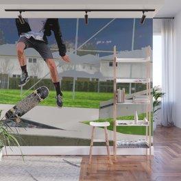 Missed Opportunity  - Skateboarder Wall Mural